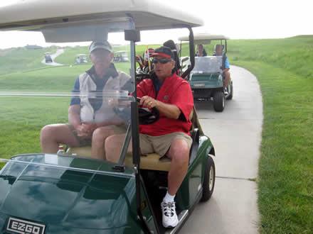 Shot gun start - Candy Meininger-Johns Memorial Golf
